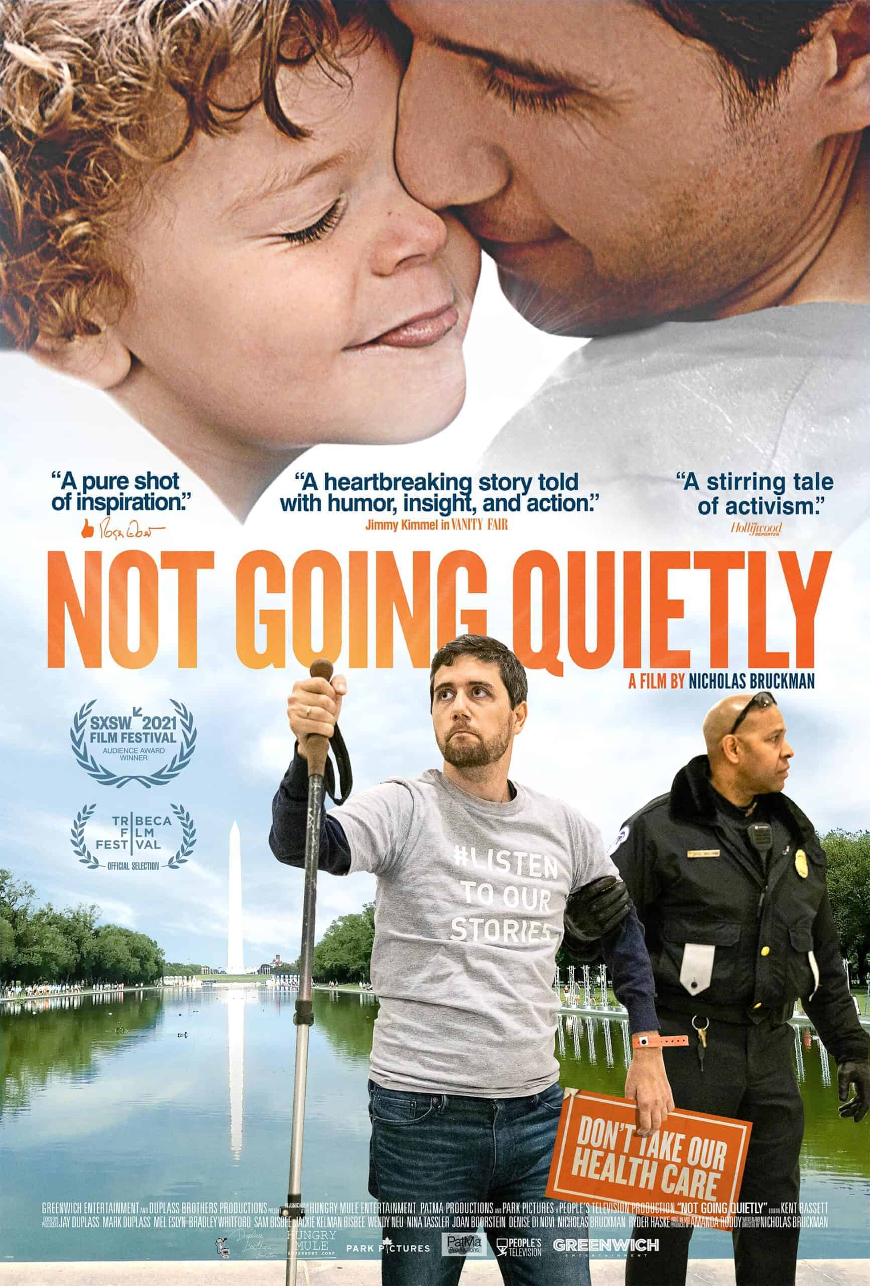 poster for Not Going Quietly
